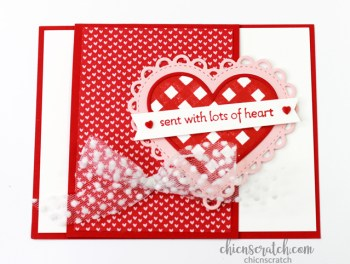 Lots of Heart Fun Fold Card