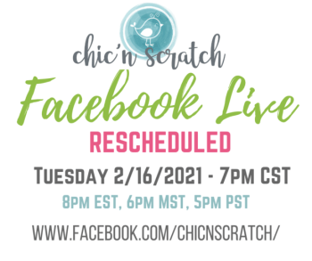 Facebook Live – February 15th