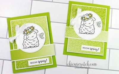 Springtime Joy Fun Fold Card