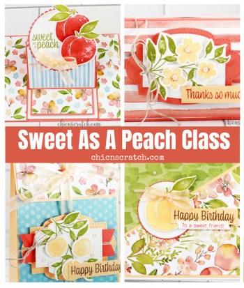 Sweet As a Peach Class