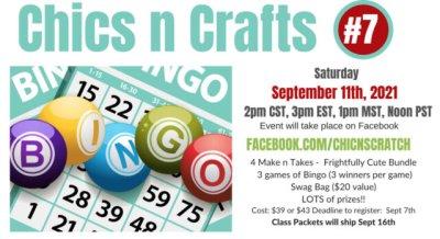 Chics n Crafts Bingo #7