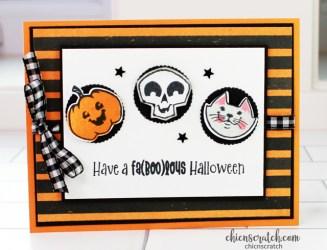 Faboolous Halloween Fun Fold Card