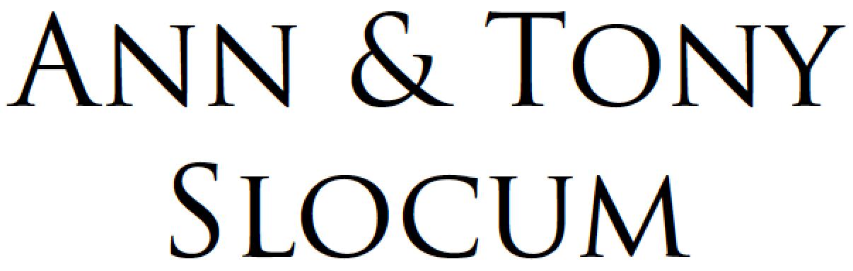 Ann & Tony Slocum
