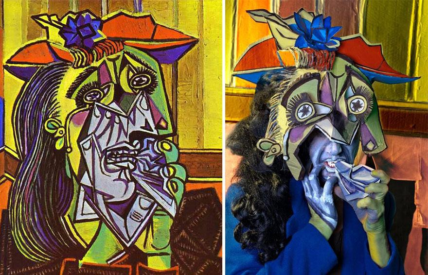 Left: Pablo Picasso, Right: Adair McKenzie