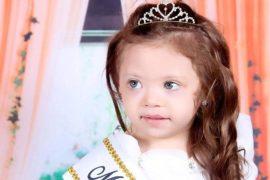 Maria Vitoria foi a grande vencedora do concurso Miss Baby Destaque RS, em Blumenau (SC)