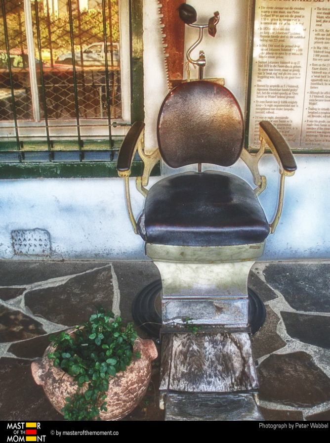 OUTSIDE - Dentist chair in South Africa