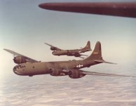 Bombardeiros B-29 pintados de Verde-oliva - final de 1943