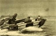 Em 13 de julho, forças armadas finlandesas tomam ambos os lados do lago Ladoga e se preparam para o ataque - barco tempestade no lago Ladoga