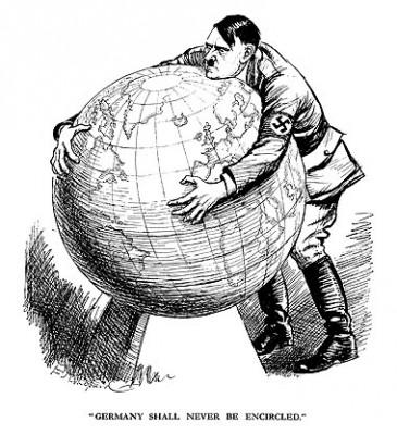 Charges e Cartoons Políticos da Segunda Guerra