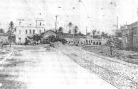 Vista da Rua Direita, atualmente Largo da Paz. A Igreja do Largo da Paz foi utilizada durante a Intetona Comunista de 1932 como Posto de Observação contra as tropas do Governo, instalada uma metralhadora na torre da igreja
