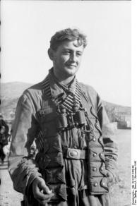 Kreta, Fallschirmjäger nach Einsatz