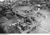 Produktion von Flugzeugen Junkers Ju 88