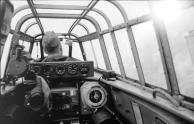 Flugzeug Messerschmitt Me 110, Cockpit