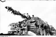 Frankreich, Panzertransport mit der Eisenbahn