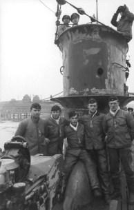 Wilhelmshaven, U-Boot-Männer mit Eisernem Kreuz