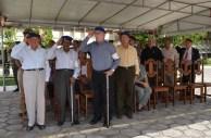 Na foto da esquerda para direita, veteranos Souto Maior, Otaviane, Rigoberto e Josias