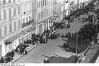 Marseille, Hafenviertel. Deportation von Juden