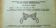 Origem do simbolo de Polícia