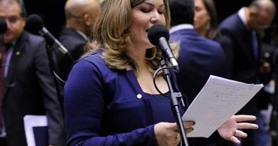 MP Eleitoral pede prioridade no julgamento do processo de cassação do mandato da deputada federal Aline Gurgel