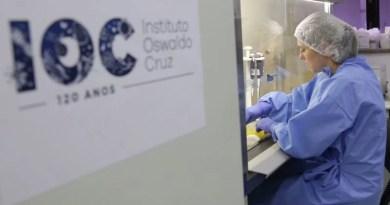 Fiocruz registra momento em que coronavírus infecta célula