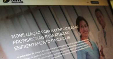 Novo site articula vagas para profissionais de saúde durante pandemia