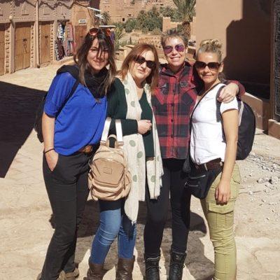 Abre la puerta a África, Ouarzazate, Marruecos