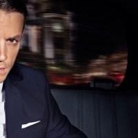 Actor Joel Kinnaman models H&M's men's fashion this autumn