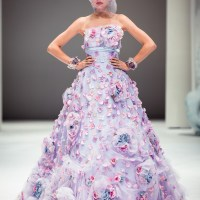 Haute Bridal gowns and contemporary Japanese interpretations with YUMI KATSURA at Japan Couture 2012 Fide Fashion Week 2012