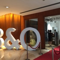 Relaunch experience of Bang & Olufsen Grand Hyatt Showroom