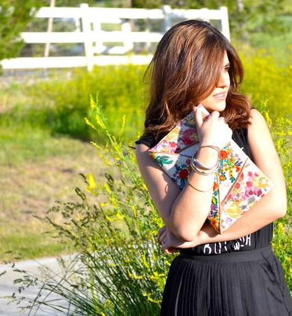 BLACK + FLOWERS