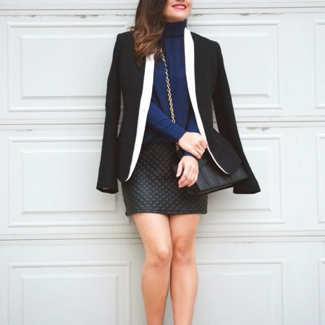 MIXING NAVY BLUE AND BLACK