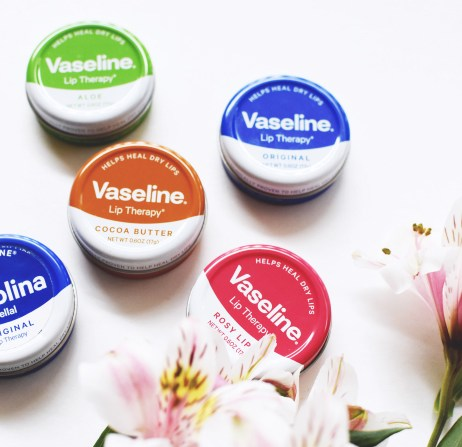 VASELINE LIP THERAPY TINS VARIANTS