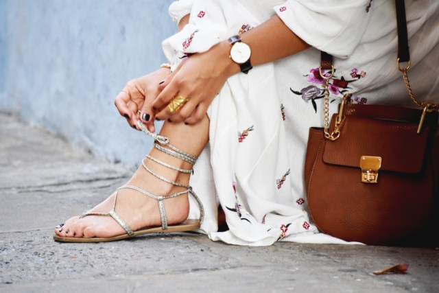 Gladiator sandals via Target