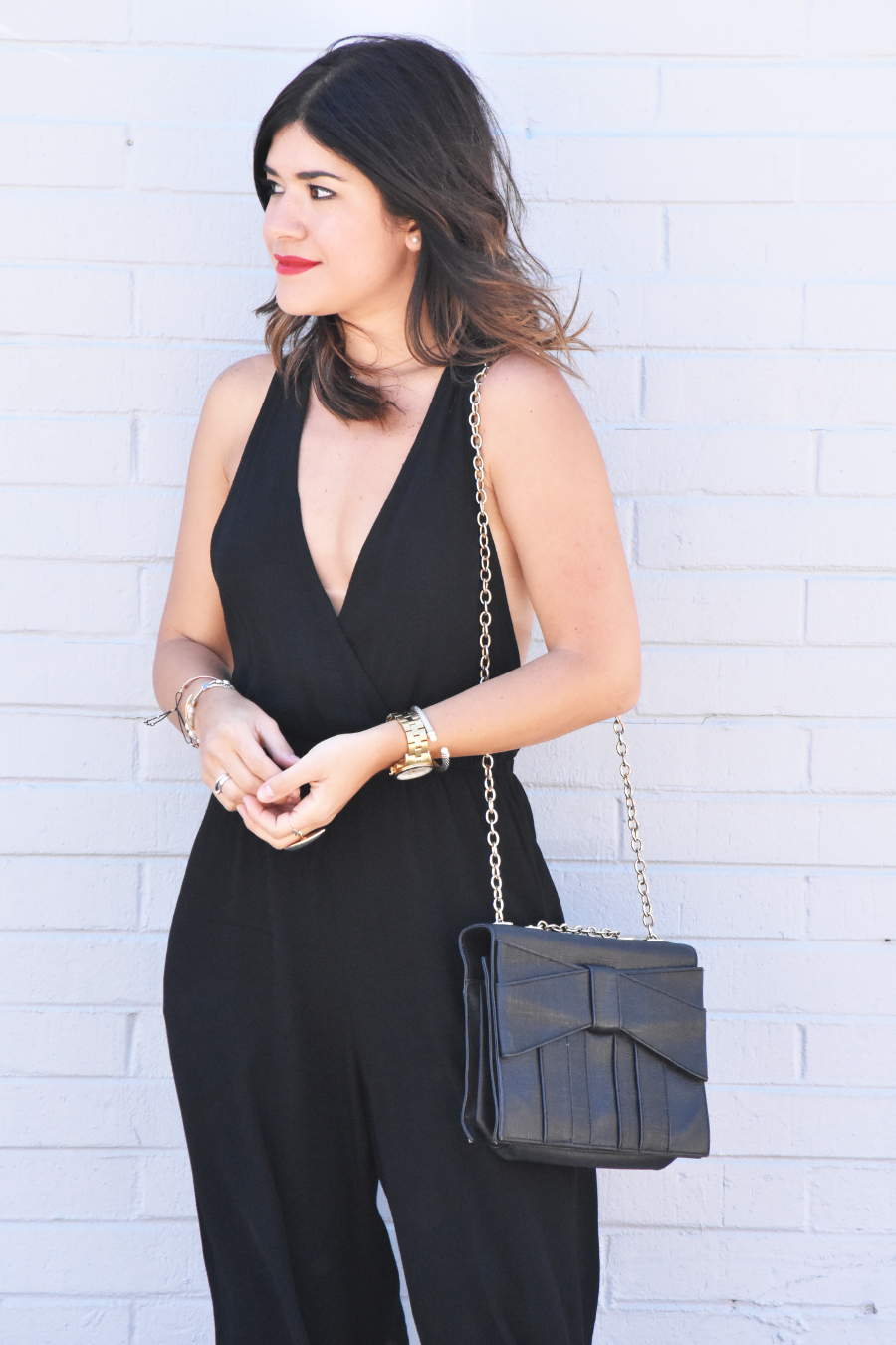 Tobi black jumpsuit
