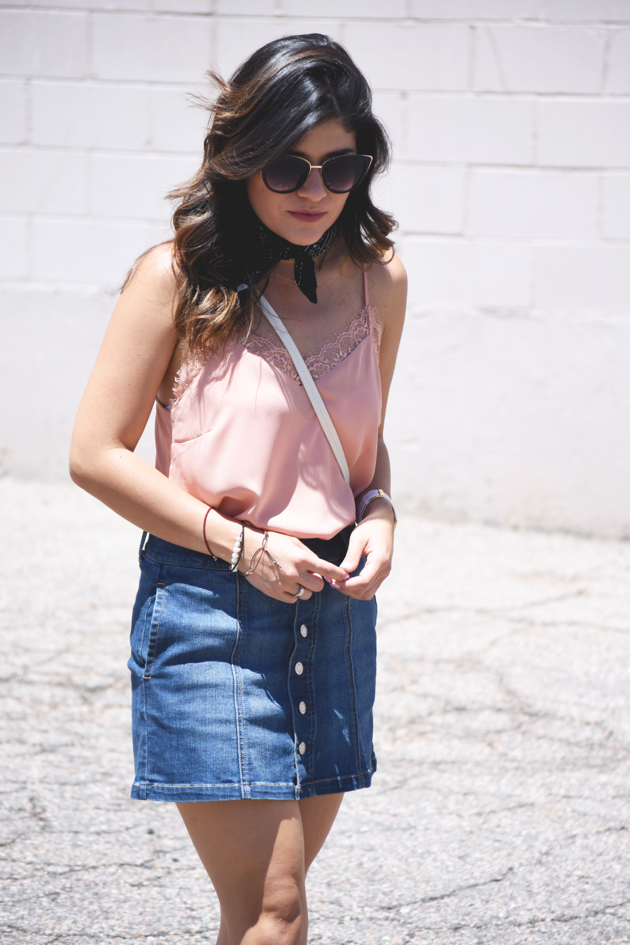 Lace camisol via forever 21