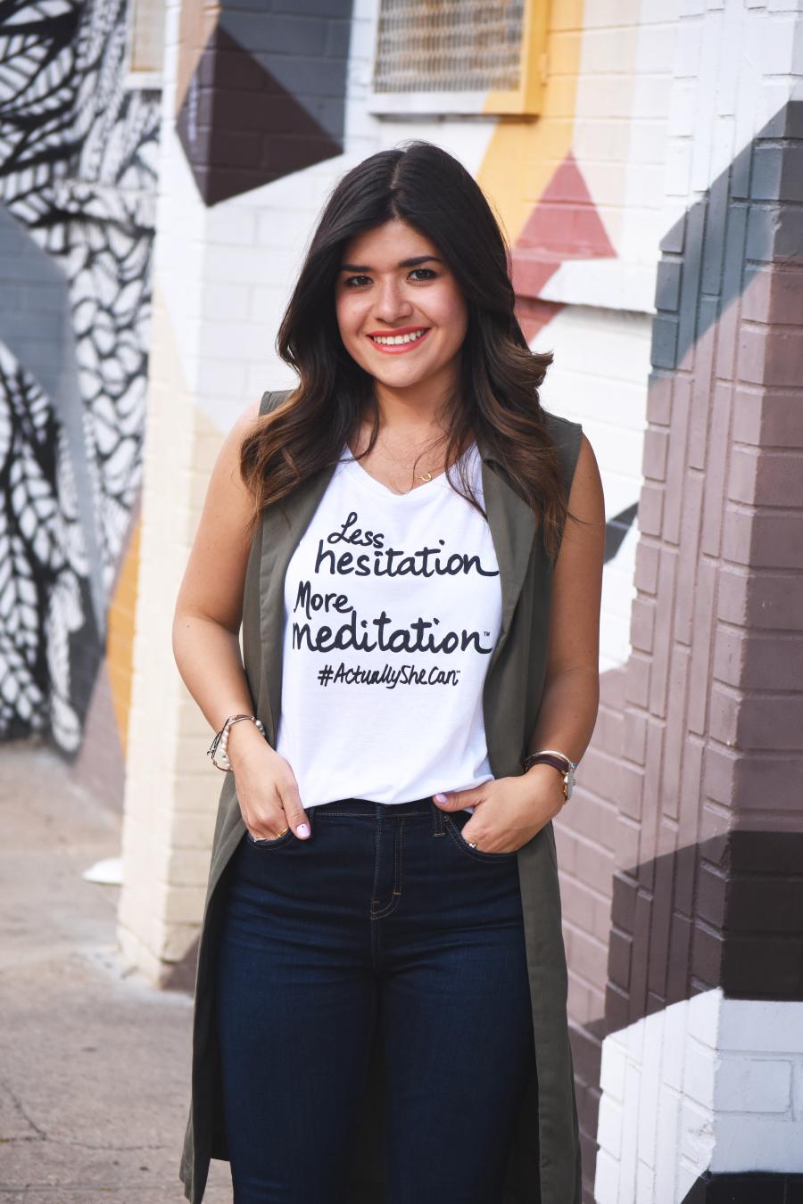 Le Motto #actuallyshecan campaign