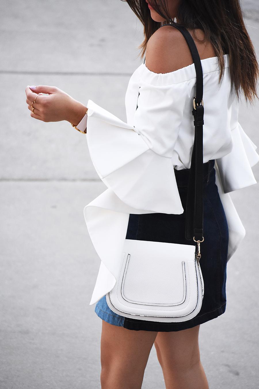 Solesociety white bag