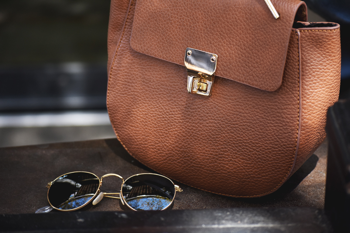 Rayban rounded 50mm sunglasses