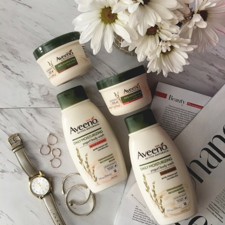 AVEENO YOGURT LOTION AND BODY WASH