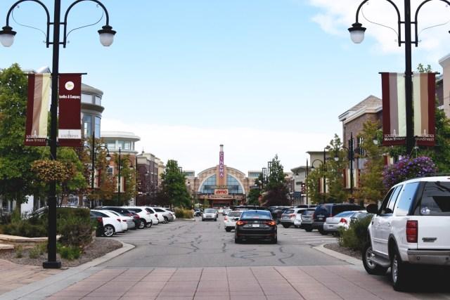 Southlands Shopping Center in Aurora, Colorado.