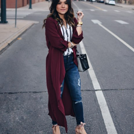 HOW TO WEAR LONG CARDIGANS THIS FALL
