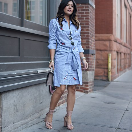 THE SHIRTDRESS WITH A MODERN TWIST