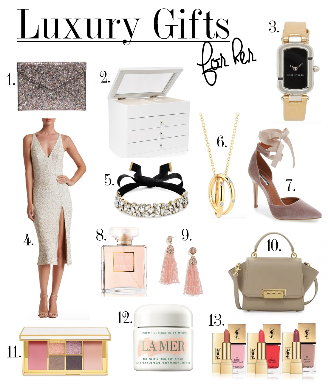 Luxury gift guide for her