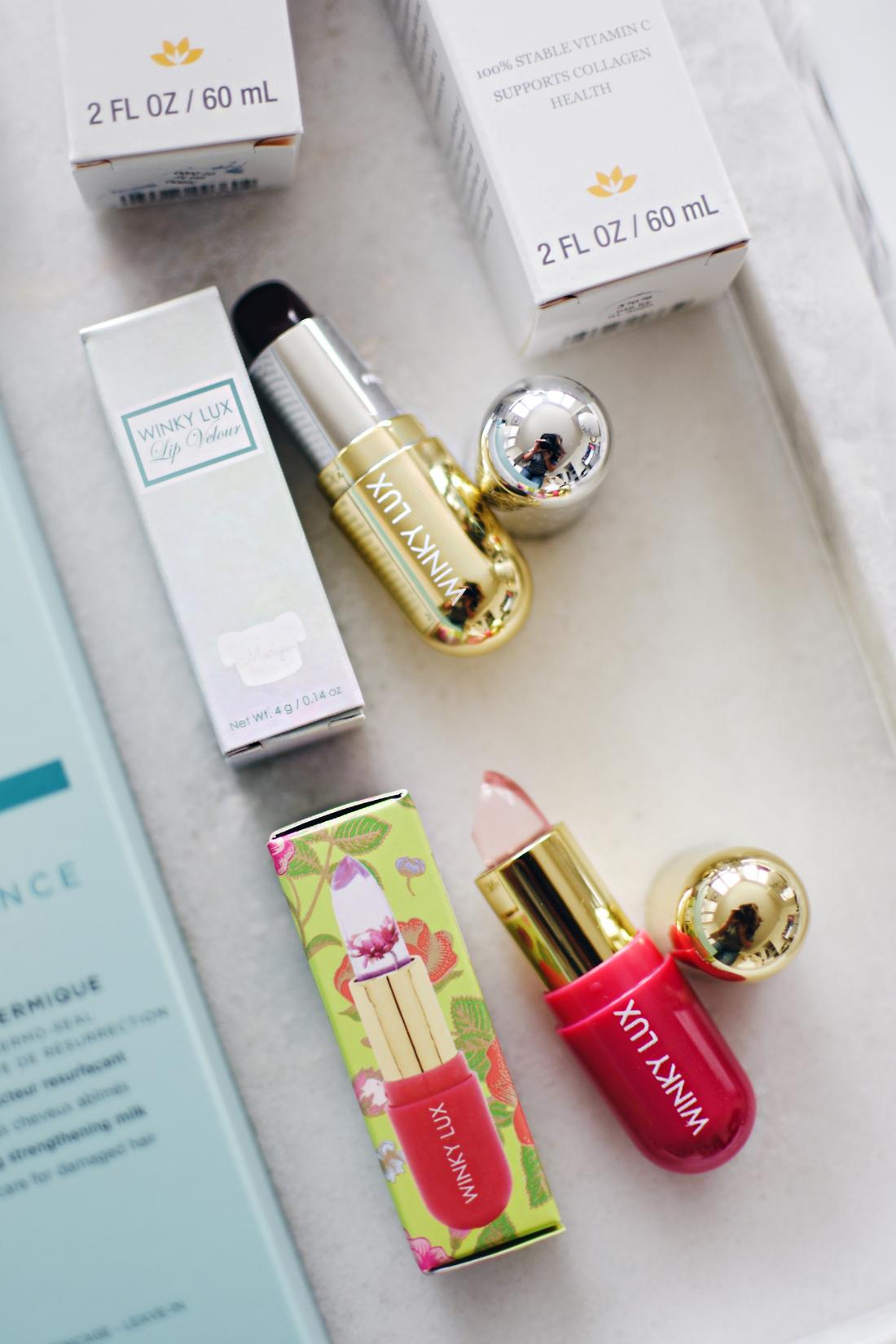 Start Studded style secrets Babbleboxx, Winky Lux lipsticks