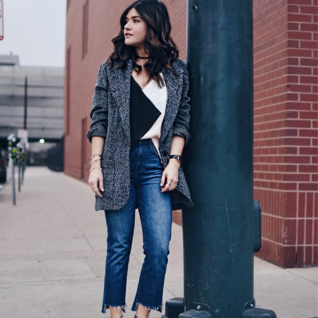 HOW TO STYLE FRAYED HEM JEANS