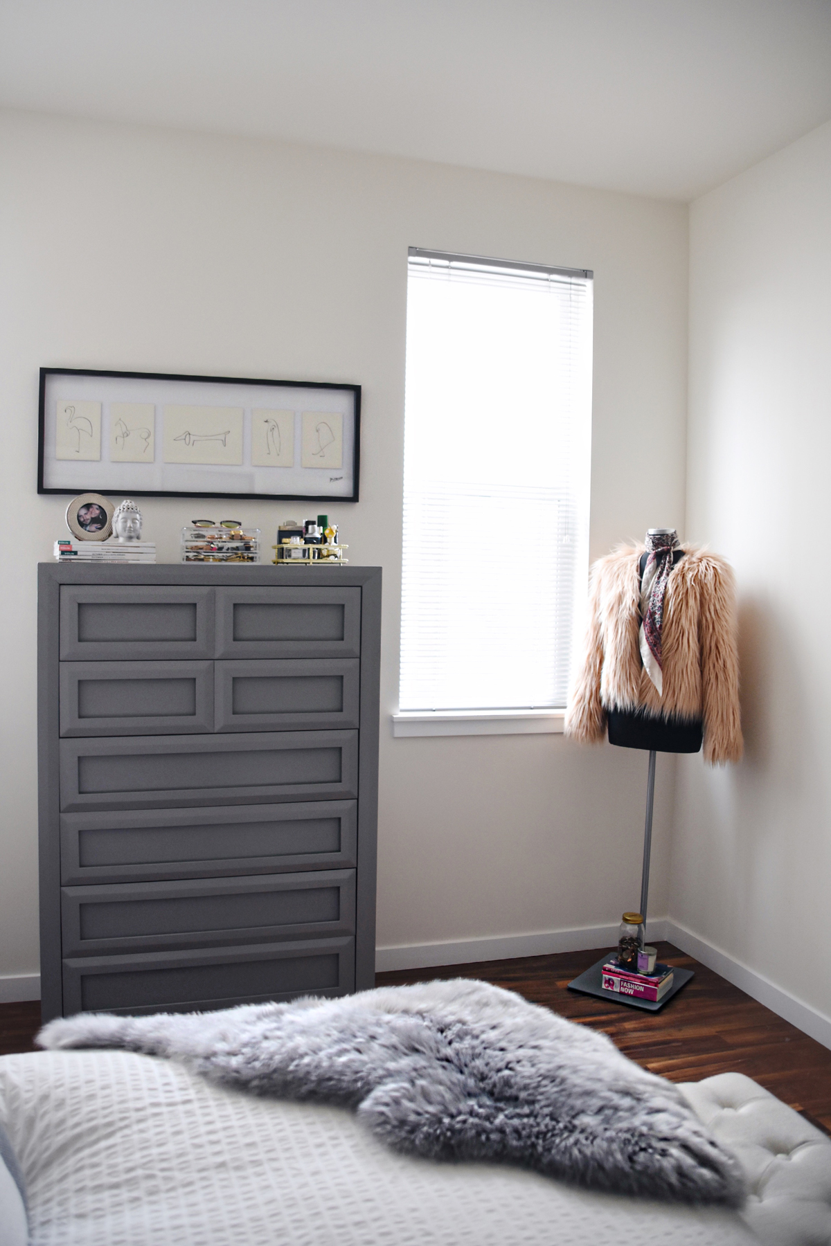 Bedroom decor inspiration with Article Velu pillow collection, and the Lanna Throw