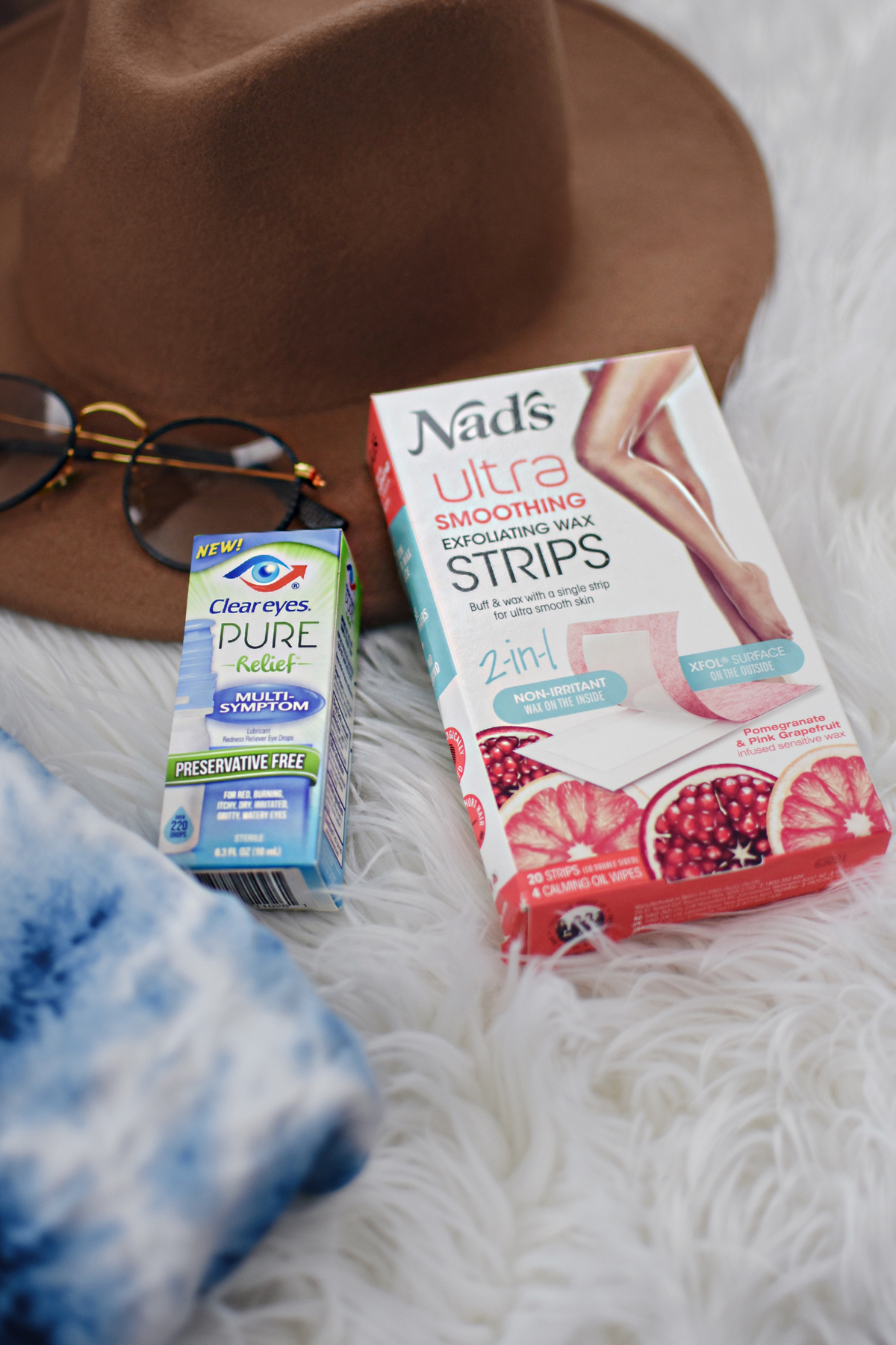Nad's ultra smoothing wax strips