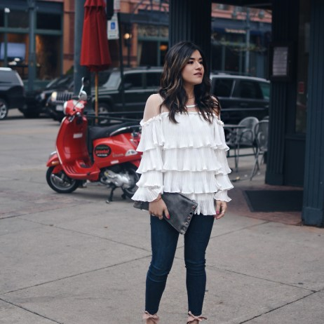 A RUFFLE TOP YOU NEED TO TRY