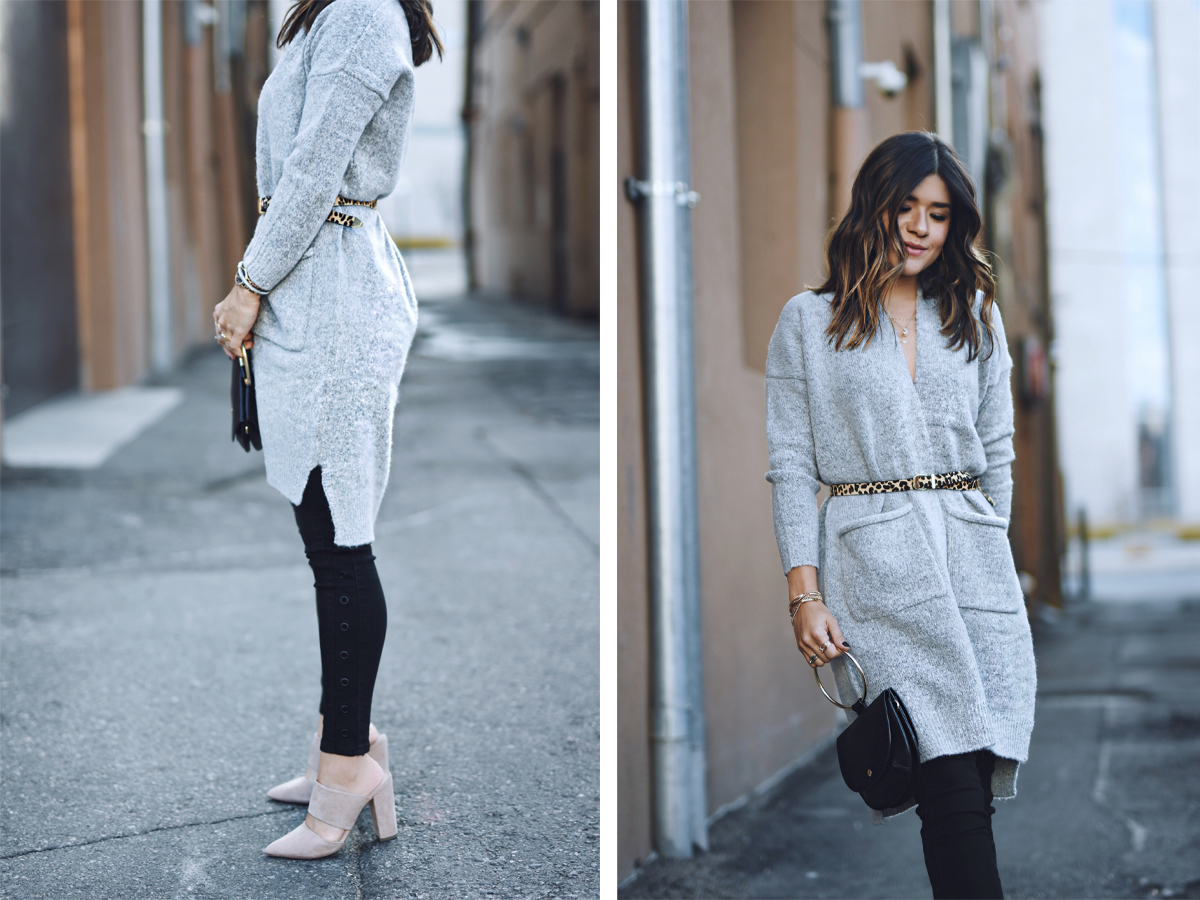 Carolina Hellal wearing fall must-haves via Gordmans