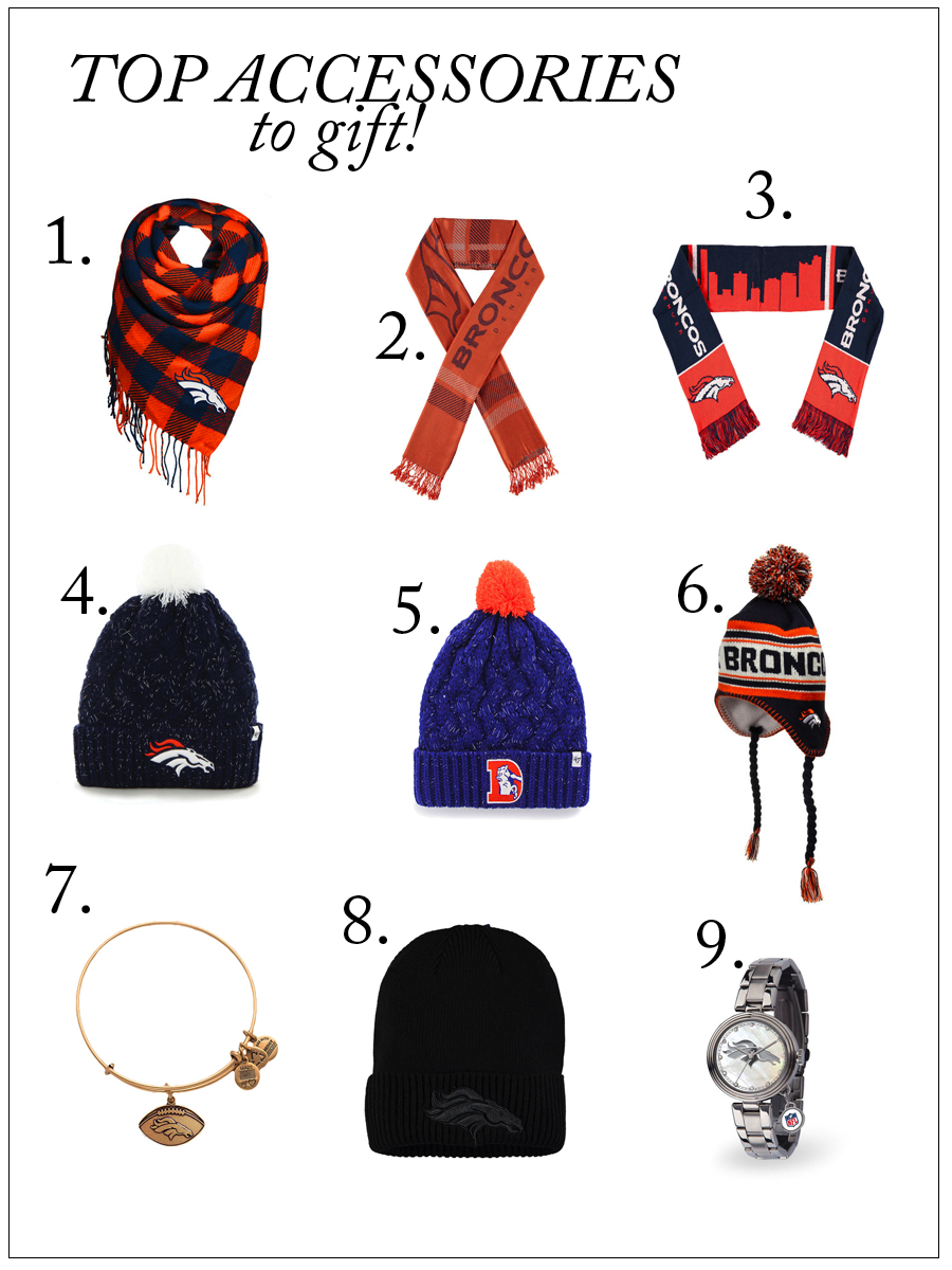TOP DENVER BRONCOS ACCESSORIES TO GIFT